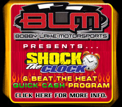 Bobby Lake Motorsports SHOCK THE CLOCK